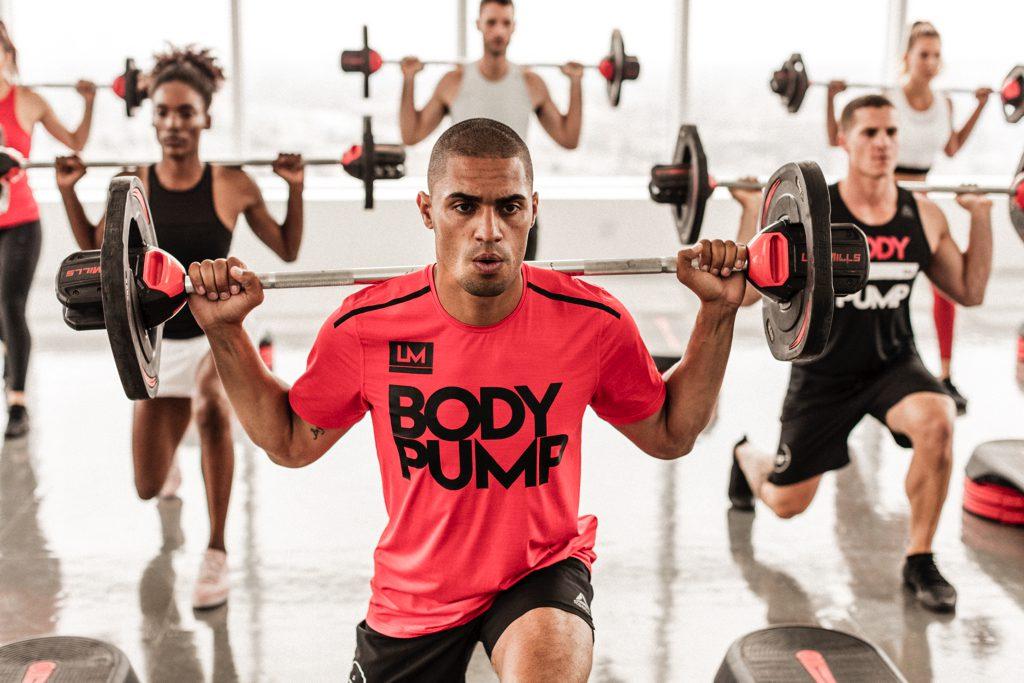 Photo cours de BodyPump dans la salle Olympe Aqua Fitness