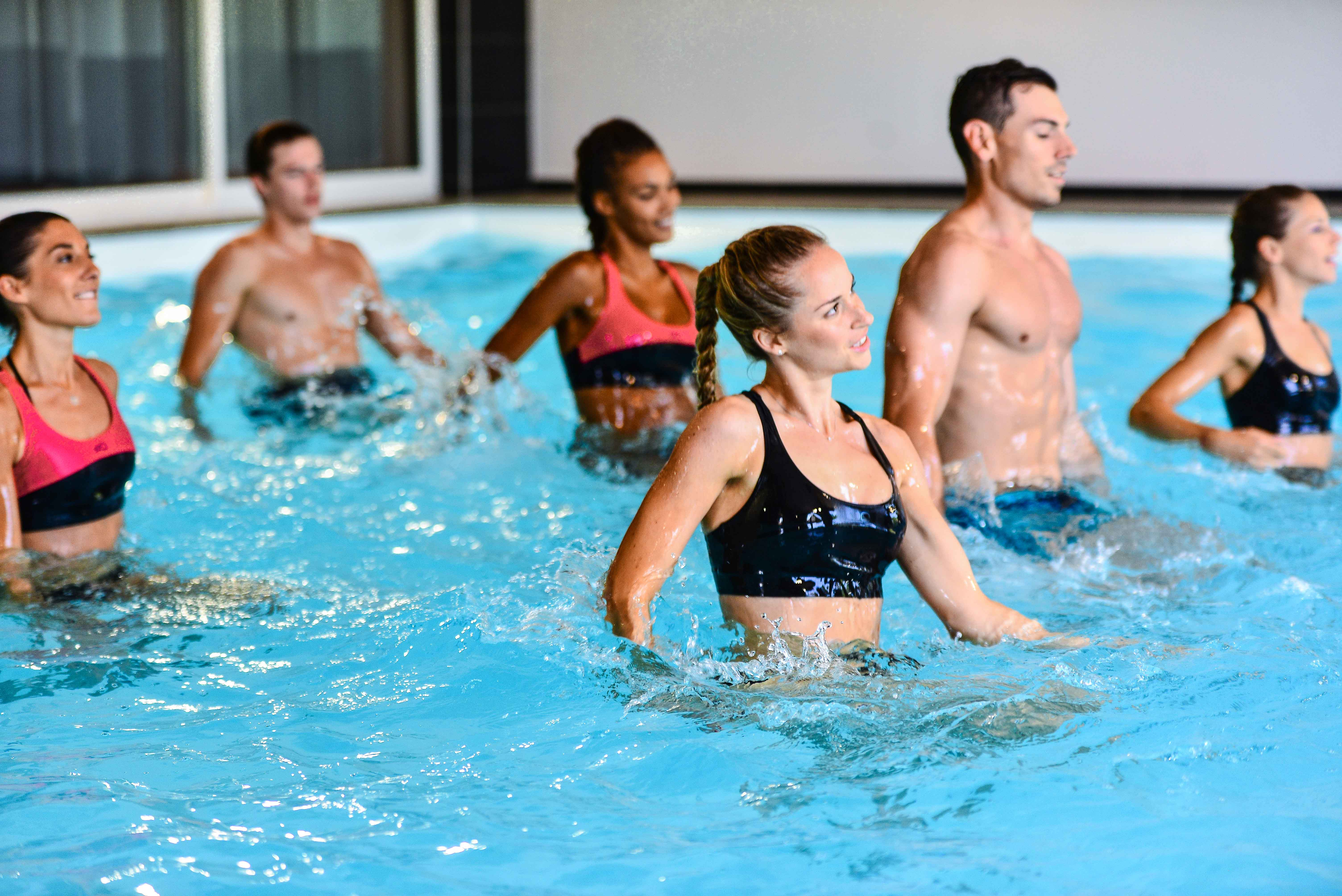 Photo cours Aquadynamic dans la salle Olympe Aqua Fitness