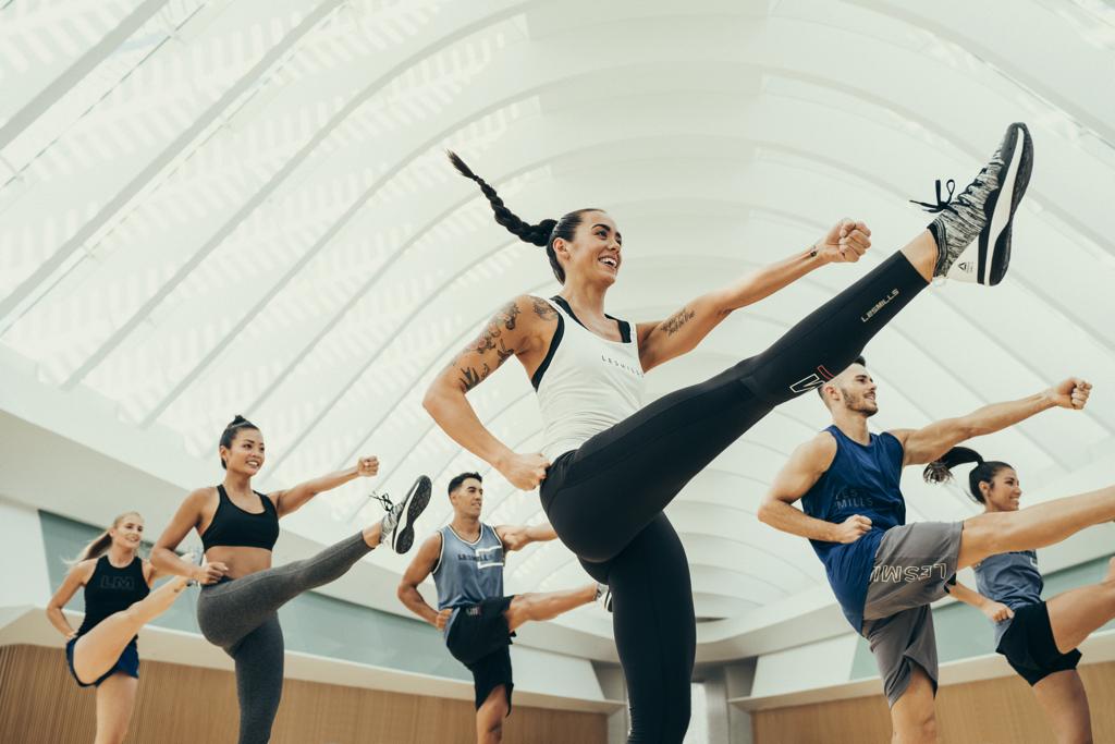 Photo cours BodyAttack dans la salle Olympe Aqua Fitness