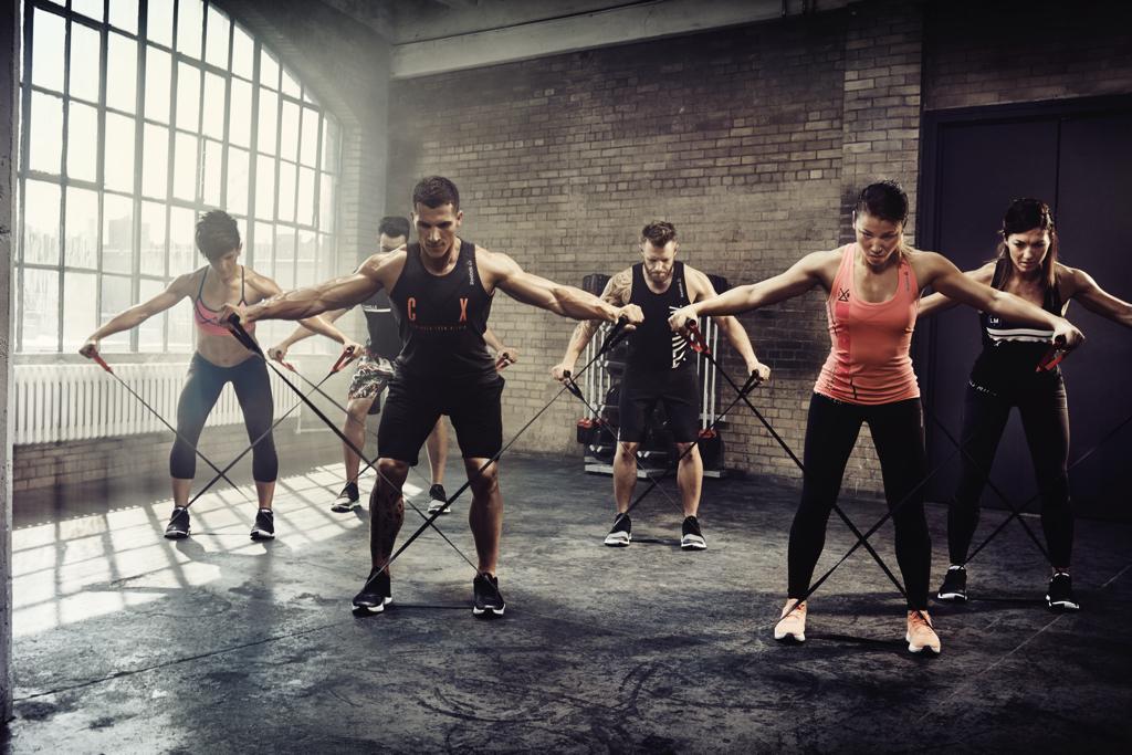 Photo cours CX works dans la salle Olympe Aqua Fitness