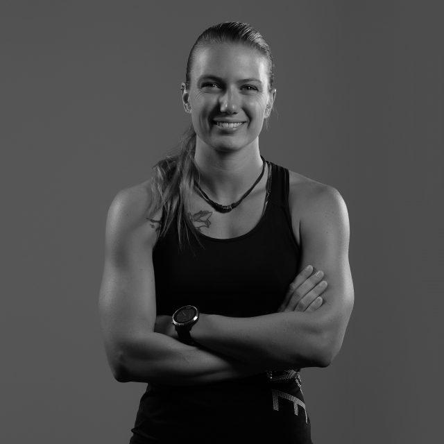 Photo d'Alizée une des coachs privés d'Olympe Aqua Fitness