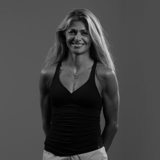 Photo de Raphaelle un des professeurs d'Olympe Aqua Fitness