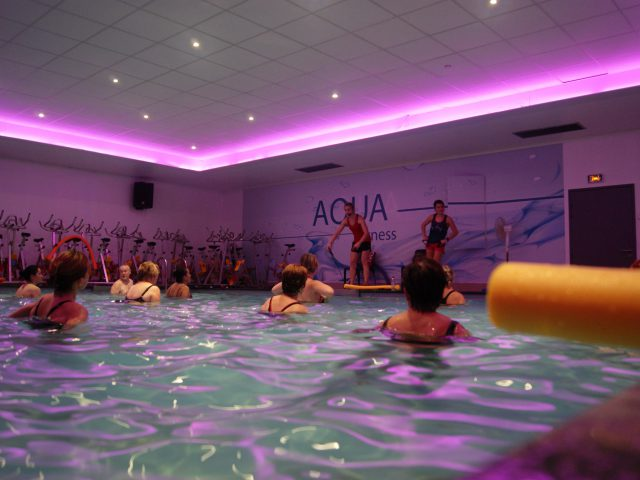 Photo d'un cours d'aqua à Olympe Aqua Fitness