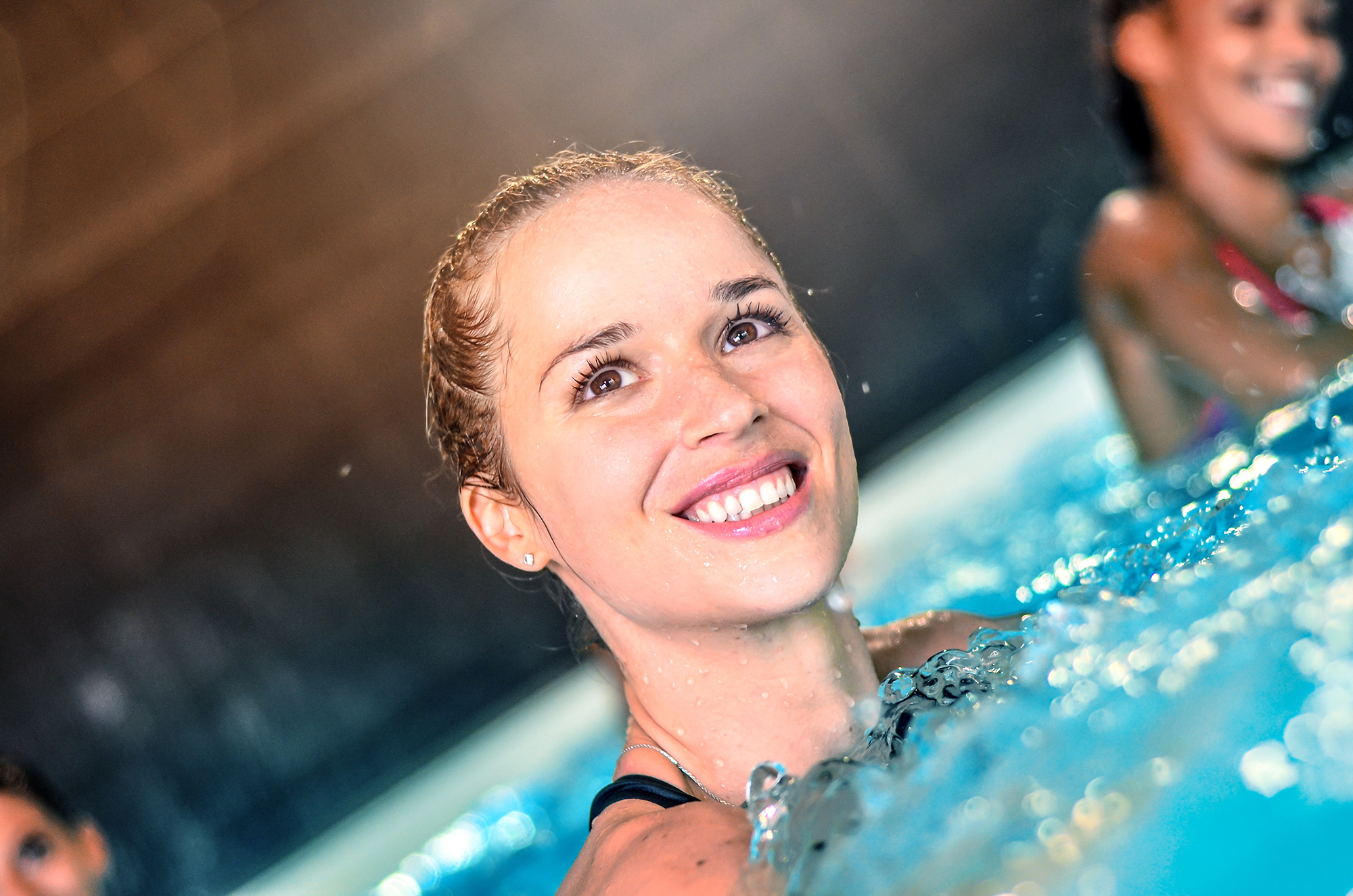 Photo cours aquasoft dans la salle Olympe Aqua Fitness