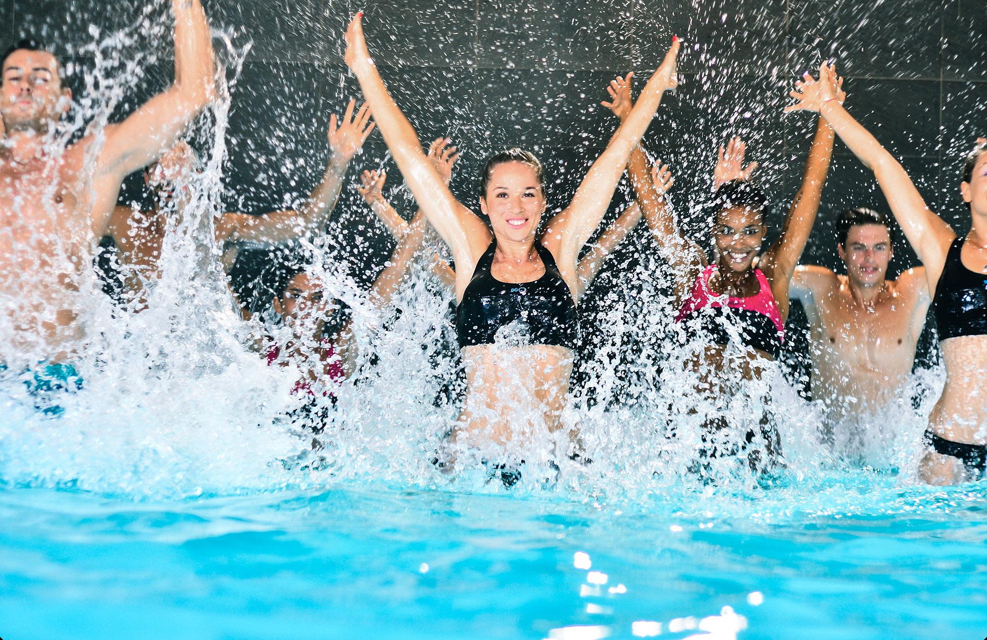 Photo cours aquatraining Dans la salle Olympe Aqua Fitness