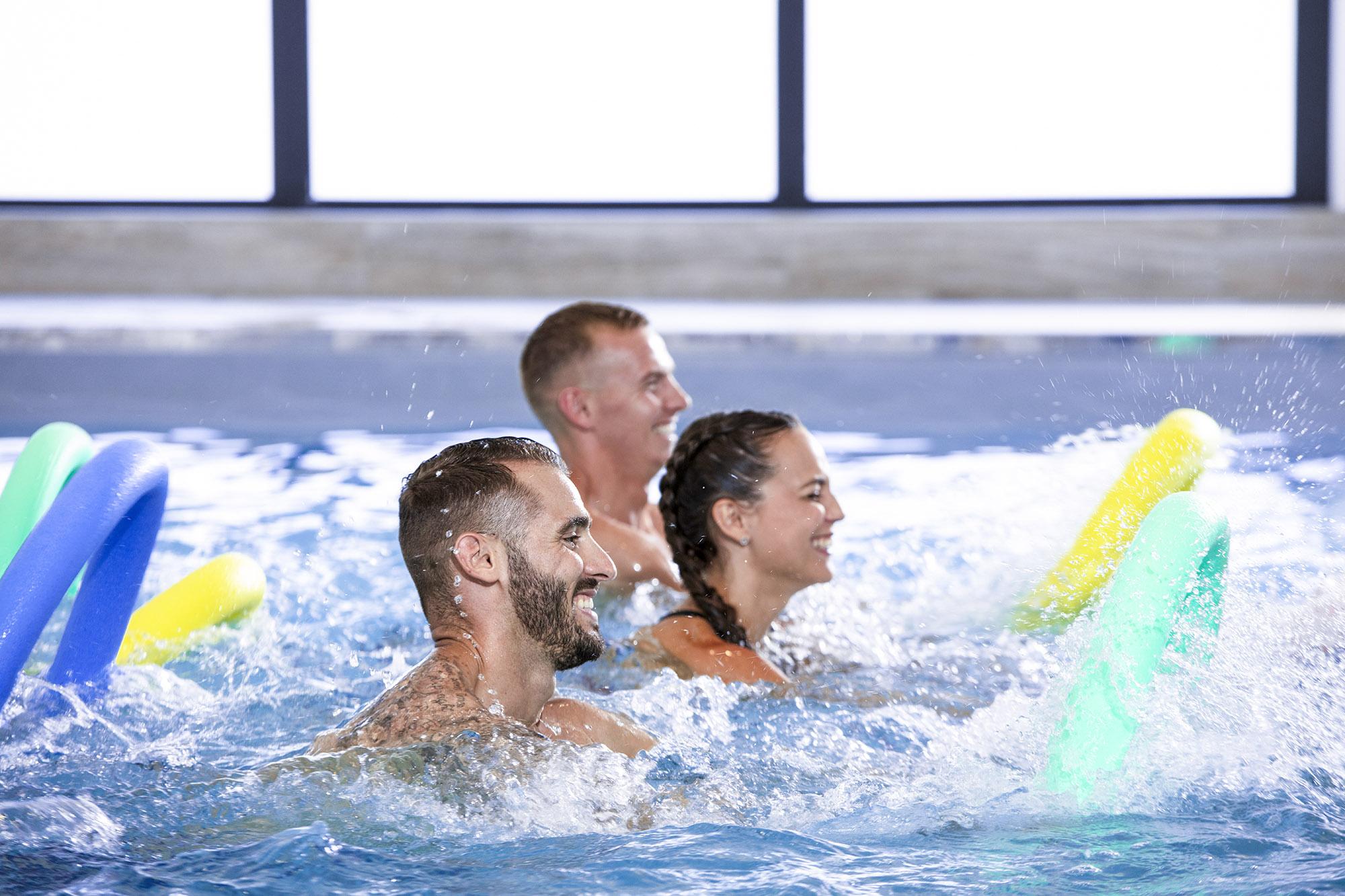 Photo cours aquawork dans la salle Olympe Aqua Fitness
