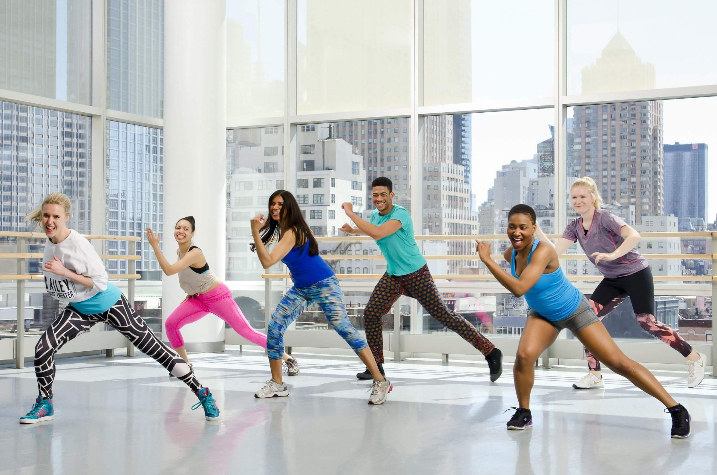 Photo cours Zumba dans la salle Olympe Aqua Fitness