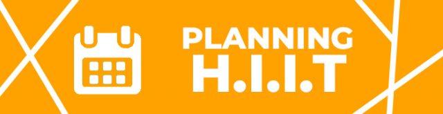 Accéder au planning des cours HIIT et Fonctionnel